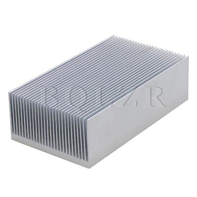 12x6.9x3.6cm Aluminium Heat Sink Heatsink Radiation Cooling Fin Silver