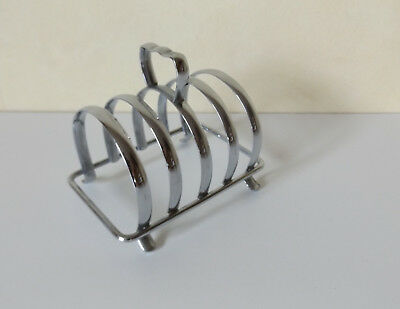 Vintage Art Deco Stainless Steel toast rack