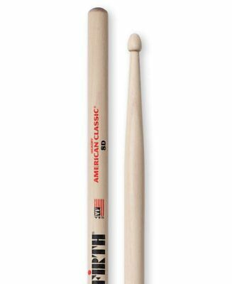Vic Firth 8D Hickory Wood Tip - American Classic Serie