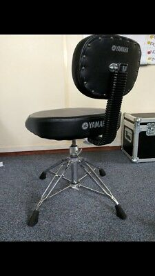 Yamaha DS950 Double Braced Drum Throne With Back Rest