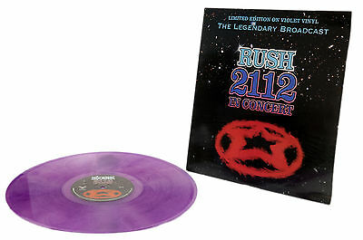 Rush - 2112 In Concert: The Legendary Broadcast -Limited Edition on Violet Vinyl