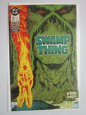 Swamp Thing (1982 2nd Series) #72 - 8.5 VF+ - 1988