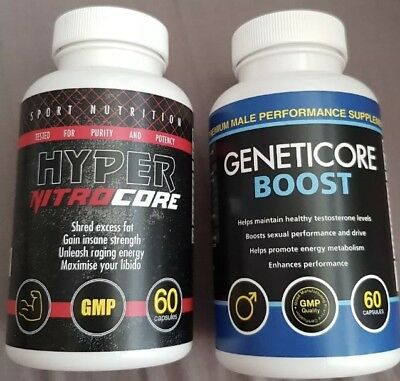 GENETICORE BOOST AND HYPER NITRO CORE !! Free Gift 🎁FAST DELIVERY!!!