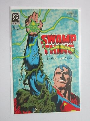 Swamp Thing (1982 2nd Series) #72 - 8.0 VF - 1988