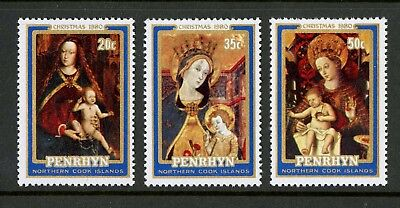Penrhyn Islands   1980   Scott # 127-129    Mint Never Hinged Set