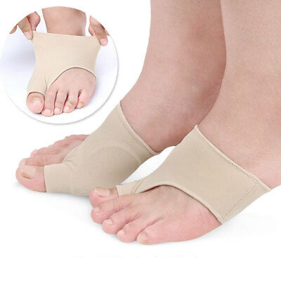 Two Size Foot Health Care Bunion Pads Spandex Feet Cushions Toe Protection Cover