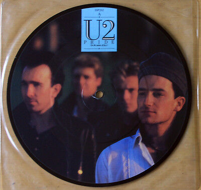 "Ex/ex! U2 Pride In The Name Of Love/ Boomerang 11 1984 Picture Pic Disc 7"" Vinyl"