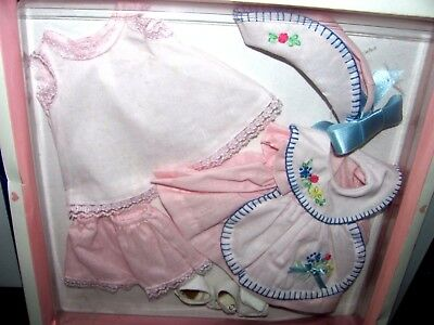 PATSY JOAN DOLL  OUTFIT FOR 18 inch DOLL BY EFFANBEE PINK DRESS~NEW IN BOX