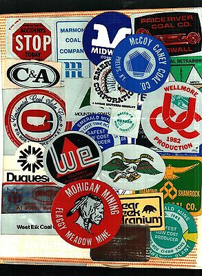 OVER 600 DIFFERENT NICE COAL CO. COAL MINING STICKERS  plus a bonus of 110 MORE