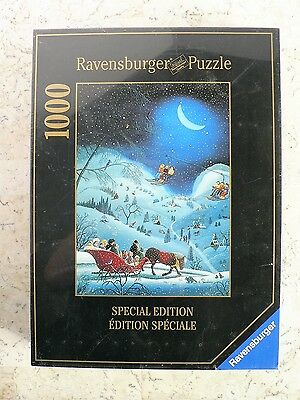 NEW Ravensburger Special Edition Puzzle Catherine Perdreau Moonlight Sleighride