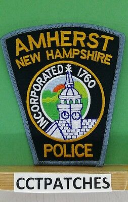 Amherst, New Hampshire Police Shoulder Patch Nh