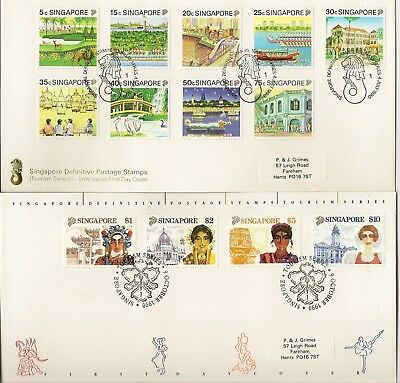 Singapore 1988-94 Pristine Illus First Day Cover Collection (60)