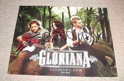 Gloriana - Autographed 8X10 Promo Photo *band Signed* Country Music Stars