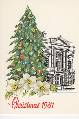 Jersey - Christmas -  Mint Post Card - 1981