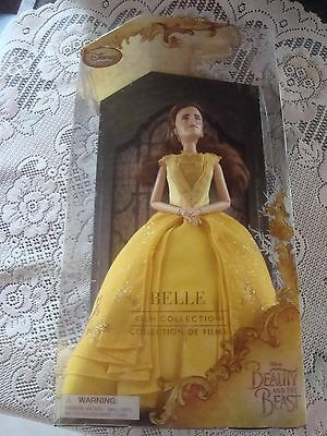 DISNEY STORE Beauty and the Beast Live Action Film Collection Belle Doll 11.5""