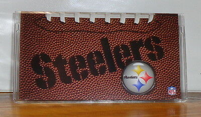 Pittsburgh Steelers Checkbook Cover. Nfl Football....free Shipping