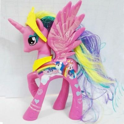 14cm Pink Princess Cadance My Little Pony Action Figure Toy Kids Girl Gift