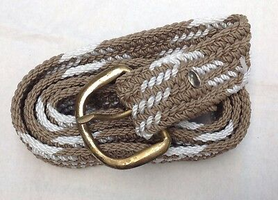 Braided Woven Belt American Classic How Cool Western