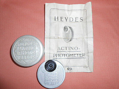 Heydes Actino-Photometer in Case with Instruction Leaflet