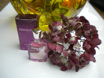 PARFUMMINIATUREN°°°LANCOME MIRACLE**FOR EVER  5ml EDP❤️❤️❤️MIT BOX