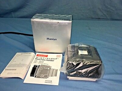 【Rare Brand New】Mamiya RZ67 PRO II 220 Roll Film Back Holder HB 702 Japan