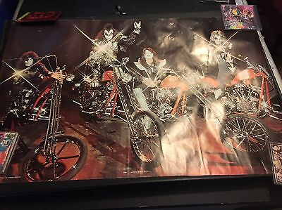Kiss 1978 Pace Chopper Poster Made In Scotland