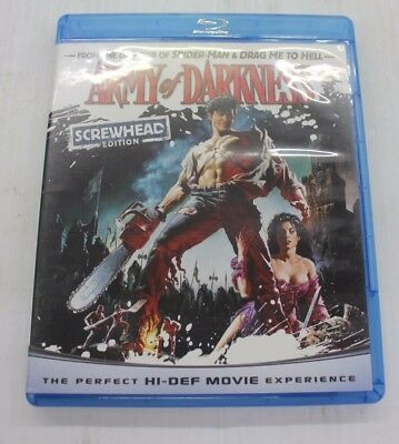 ARMY OF DARKNESS -  BLU-RAY ONLY (Screwhead edition)