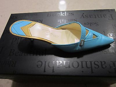 Nib Just The Right Shoe By Raine 2002 Material Girl #25345  New