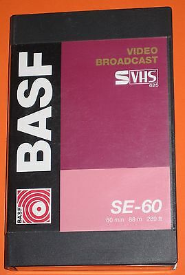 BASF S-VHS 60 Broadcast video svhs tape SE-60   x 15 tapes