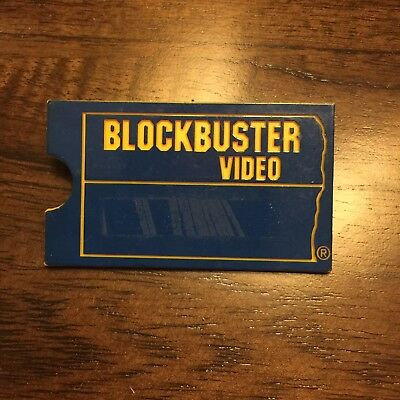 Vintage BLOCKBUSTER VIDEO Employee  Name Tag