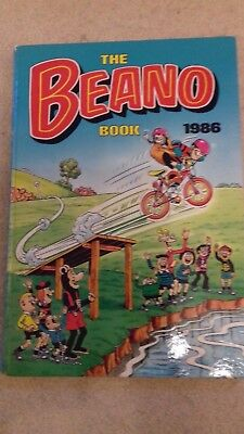 Beano Annual Book 1986 (Excellent Condition for age)