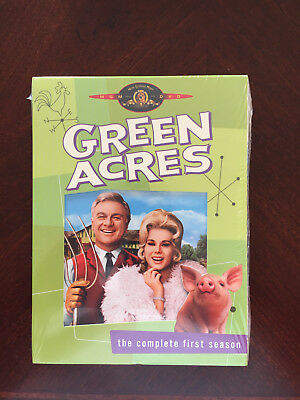 Green Acres Season 1 2 3 New Sealed Dvd; Free Shipping
