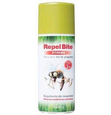 Repelente de insectos xtreme 100 ml. spray antimosquitos