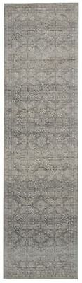 Hallway Runner Rug Hall Runner Floor Carpet Mat Silver 3 Meters Long Modern