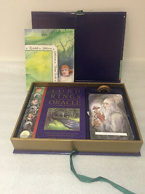 Lord Of The Rings Oracle PLUS FREE BOOK complete Exceptional Condition FREE P&P