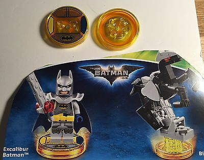 Lego Dimensions DISCS ONLY from Excalibur Batman 71344 BRAND NEW & FREE POSTAGE