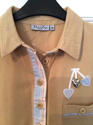 Daily Sports Ladies Golf Polo Shirt, Size M