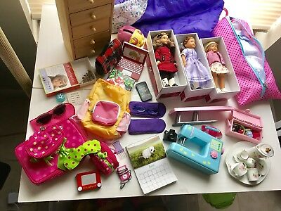 Huge Collection of American Girl Accessories
