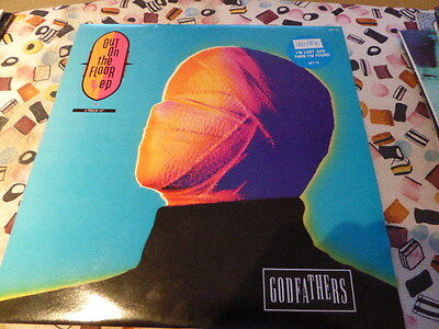 """THE GODFATHERS Out On The Floor EP UK 12"""" VINYL single (Maxi) disc GFTT5 EPIC"""