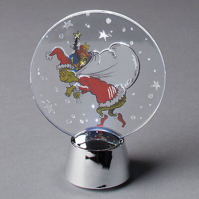 Department 56 Grinch Stealing Christmas Holidazzler Light Up Christmas Decor