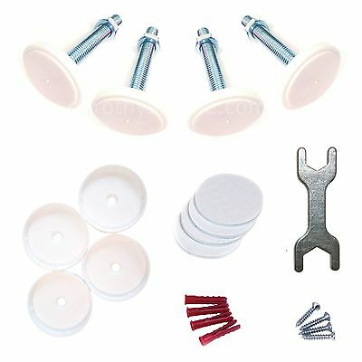 Bolts, Sticky Pads & Wall Guards/Cups Kit for Lindam Baby Safety Stairs Gate