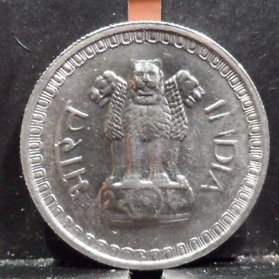 Circulated 1962 50 Paise Indian Coin (100517)1