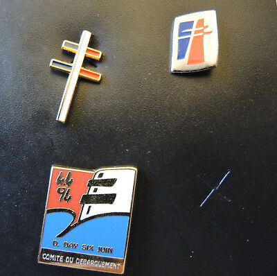 Pin's Charles de Gaulle lot 1