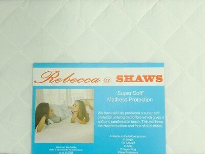 (King Size) - ShawsDirect Quilted Mattress Protectors - All Sizes - King Size