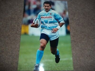 Rugby League Press Photo Colour John Schuster Halifax 12Th September 1993