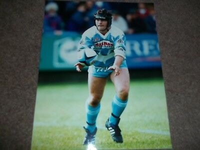 Rugby League Press Photo Colour Roy Southernwood Halifax 28Th August 1994