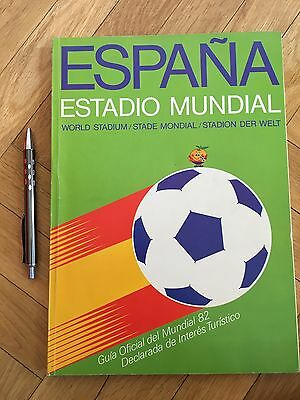 Guide Official Wolrd Cup Spain 1982 Wc82 World Stadium Photos All Selection
