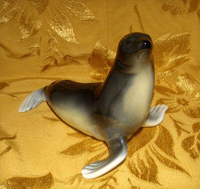 Vintage Royal Dux Seal Figurine Made In Czech Republic