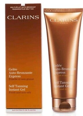 CLARINS Self Tanning Instant Gel-125ml