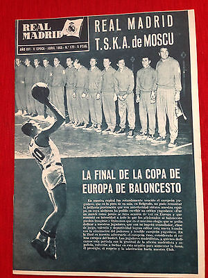 Real Madrid Spain Benfica Portugal European Cup 1964 1965
